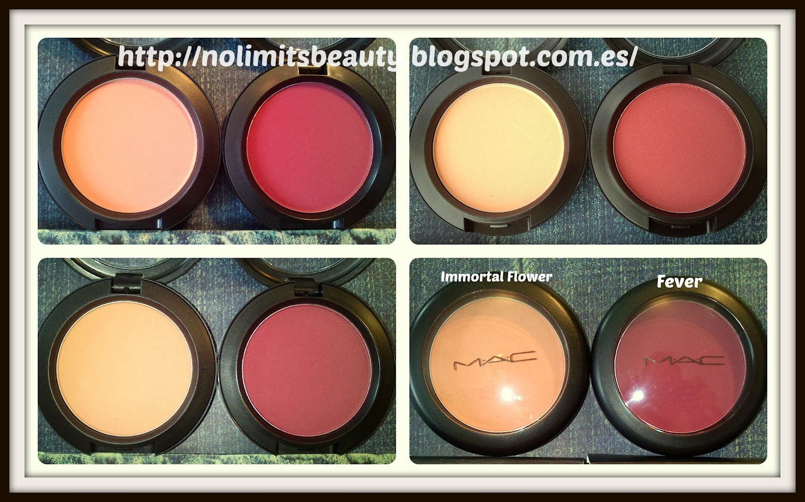 Immortal Flower & Fever Blush de MAC