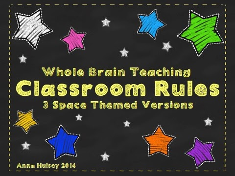 http://www.teacherspayteachers.com/Product/Whole-Brain-Teaching-Classroom-Rules-3-Space-Themed-Versions-1109146