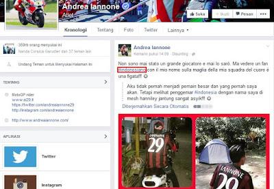 Iannone Kaget dengan Fansnya di Indonesia