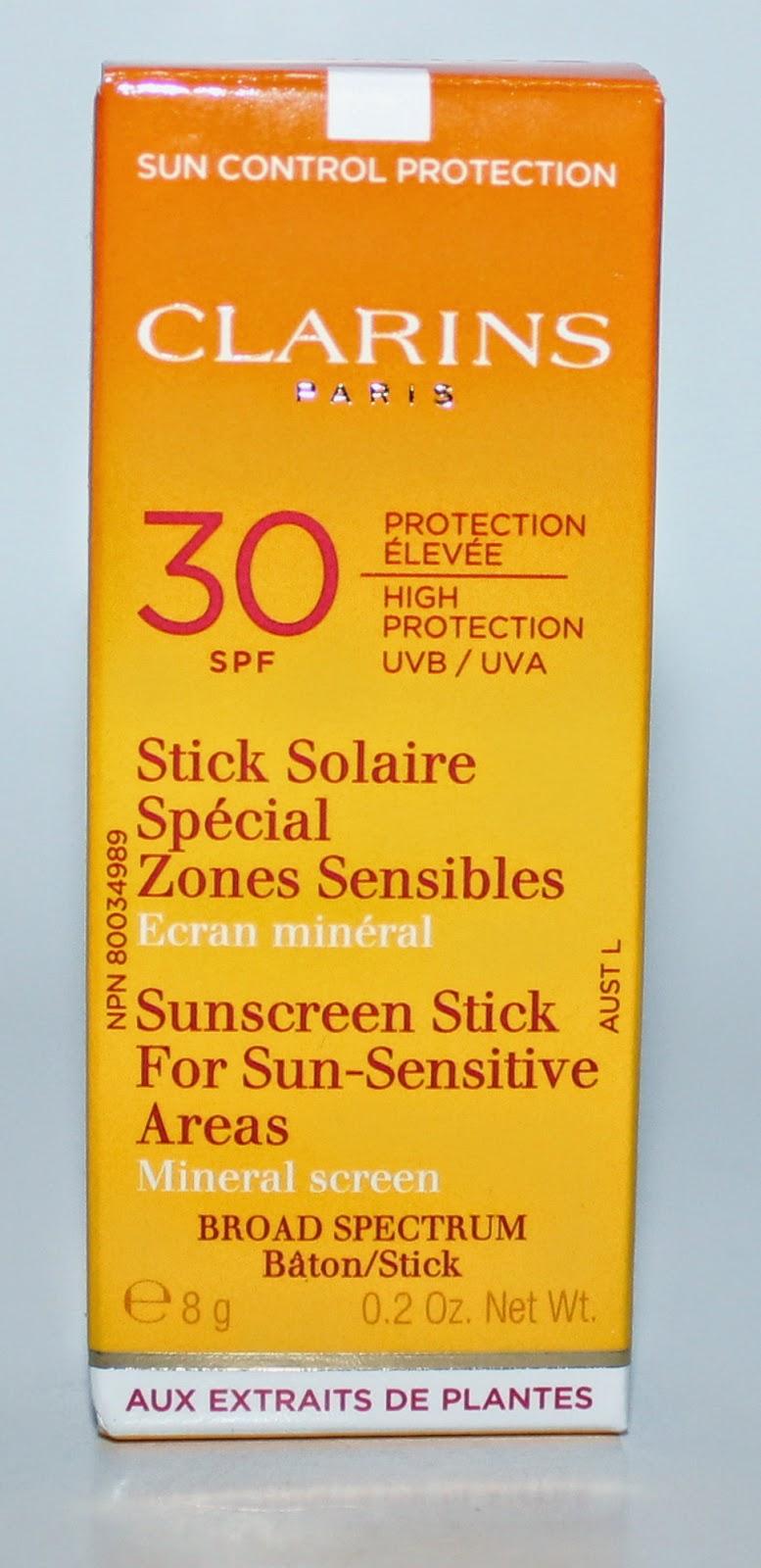 Clarins Sun Control Stick For Sun-Sensitive Areas UVA/UVB 30