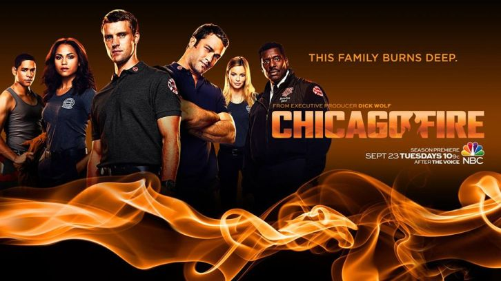 Chicago Fire - Season 3 - Promotional Key Art