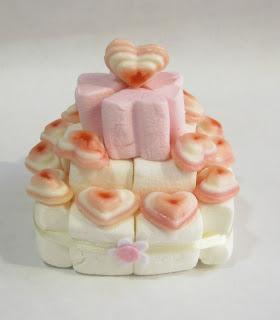 torta marshmallw, tortina marshmallow Napoli