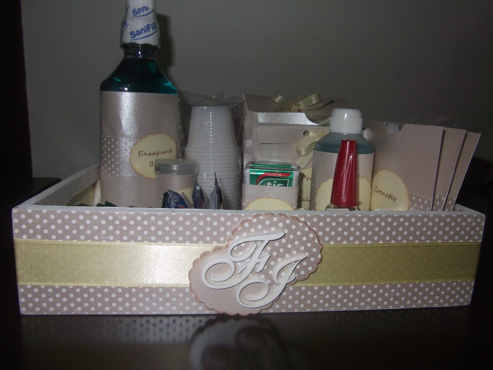 KAREN FANTINE Kits de banheiro para Casamento -> Kit Banheiro Feminino