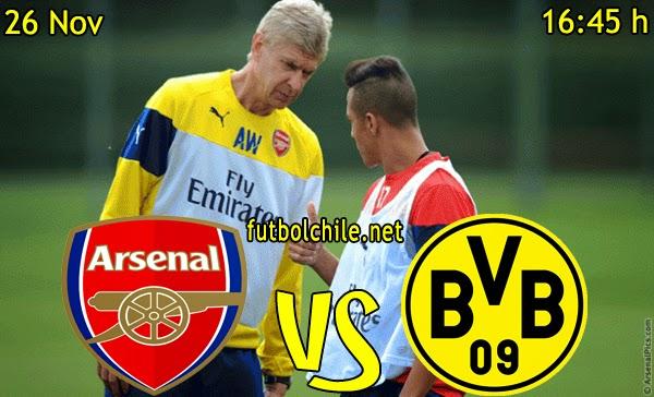 Arsenal vs Borussia Dortmund - Champions League - 16:45 h - 26/11/2014