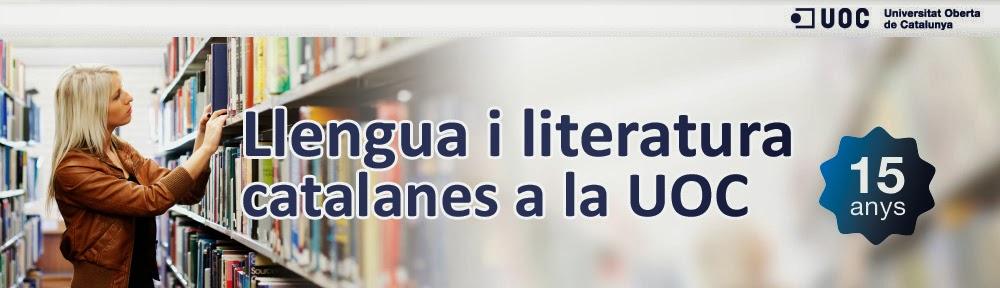 Llengua i Literatura Catalanes a la UOC