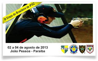 3ª etapa do Campeonato Brasileiro de IPSC - Tiro Prático