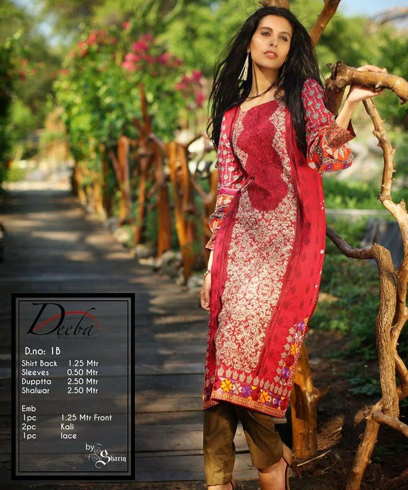Deeba Premium Summer Lawn Women Dresses