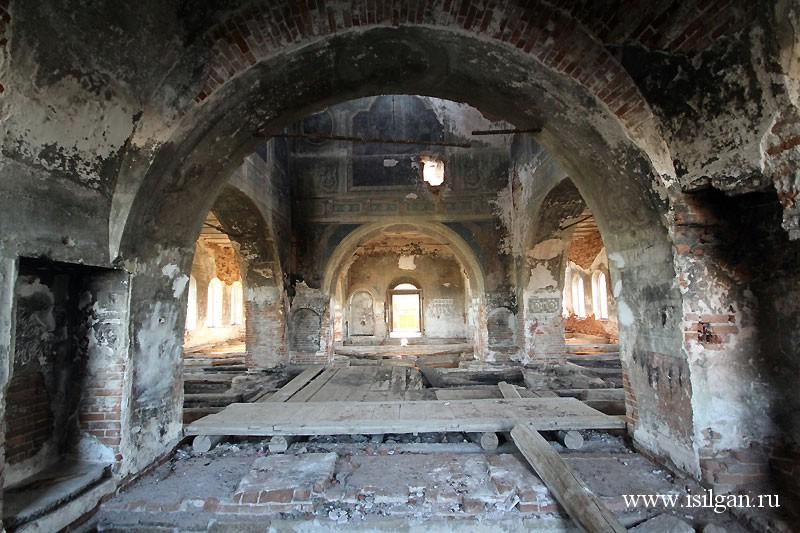 Храм святого пророка Илии в селе Огневское. Челябинская область