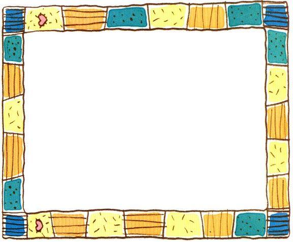 Maestros de coraz n bordes o marcos para notas y etiquetas for Bordes creativos