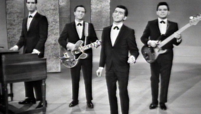 FRANKIE VALLIE and The 4 SEASONS on The ED SULLIVAN SHOW