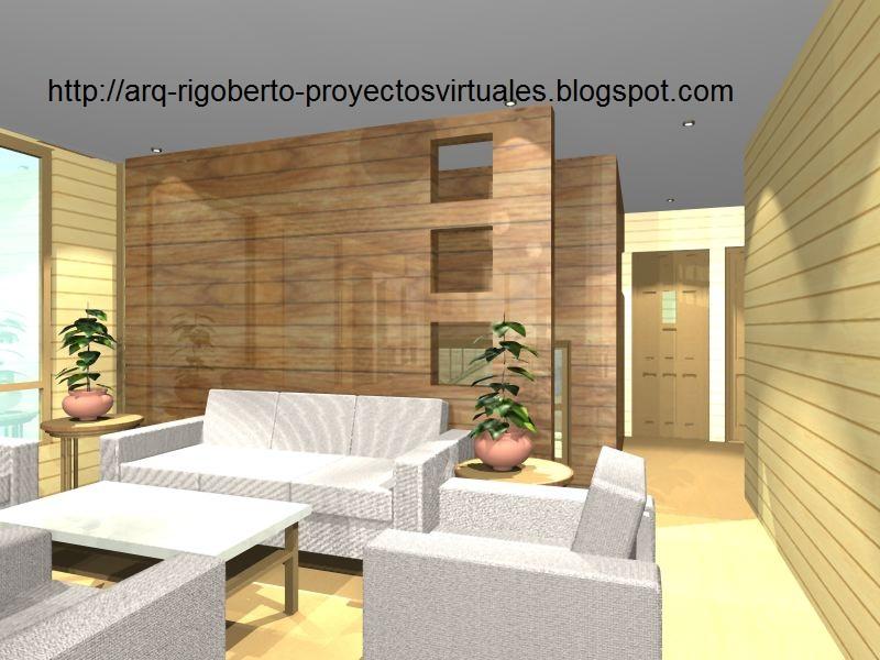 Proyectos virtuales dise o de casa habitaci n en 3d arq for Disenador virtual de habitaciones