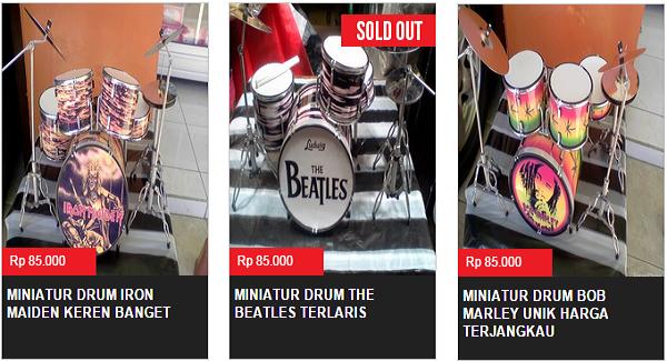 Dadalala : Jual Miniatur Drum