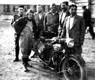 La Poderosa, Che Motorcicle Norton 500