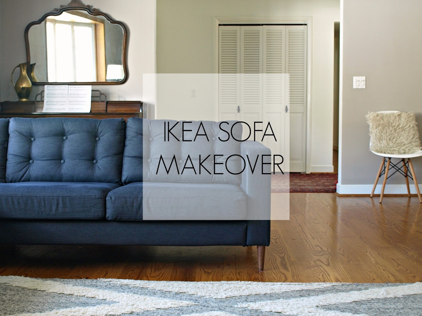 This Little Miggy Stayed Home Ikea Sofa Makeover