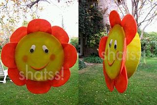Piñatas de Flores para Fiestas Infantiles
