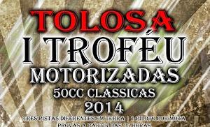 TOLOSA:  1º TROFÉU MOTORIZADAS 50 CC CLÁSSICAS