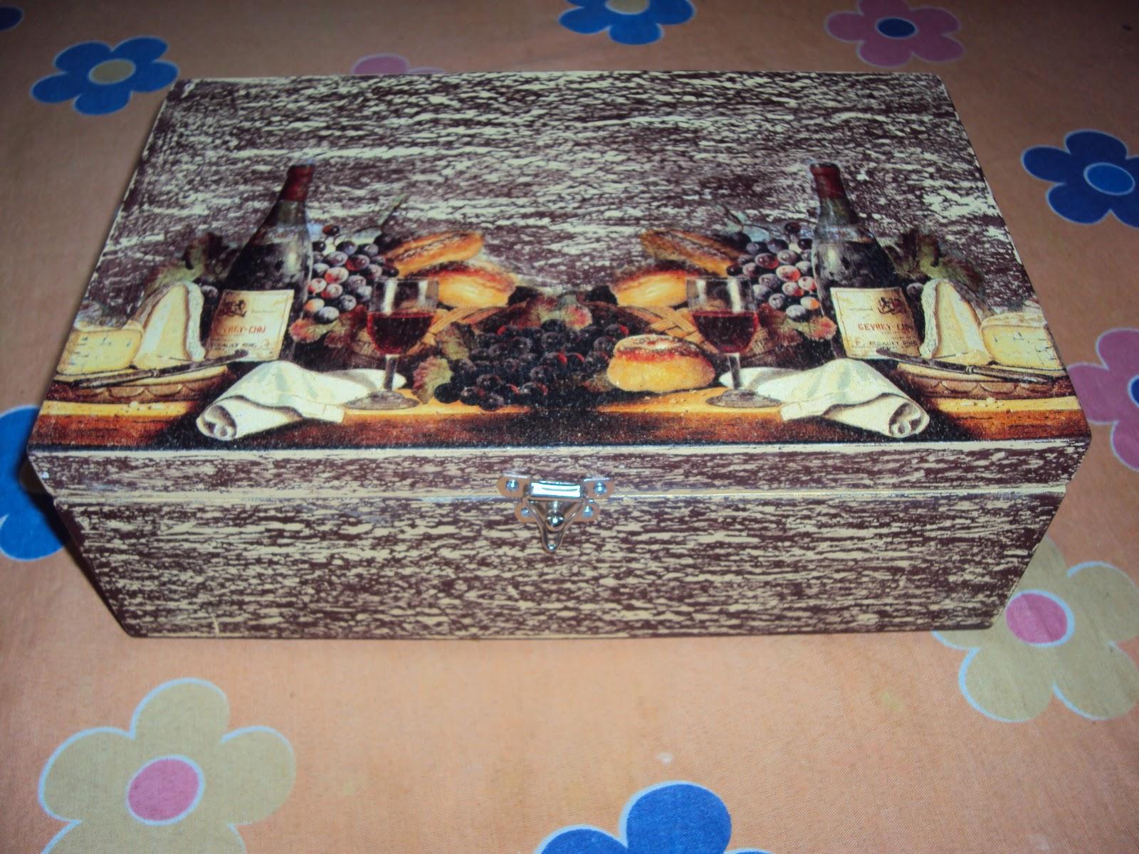 Fatima Pio: Artesanato em caixa de madeira #18396C 1600x1200