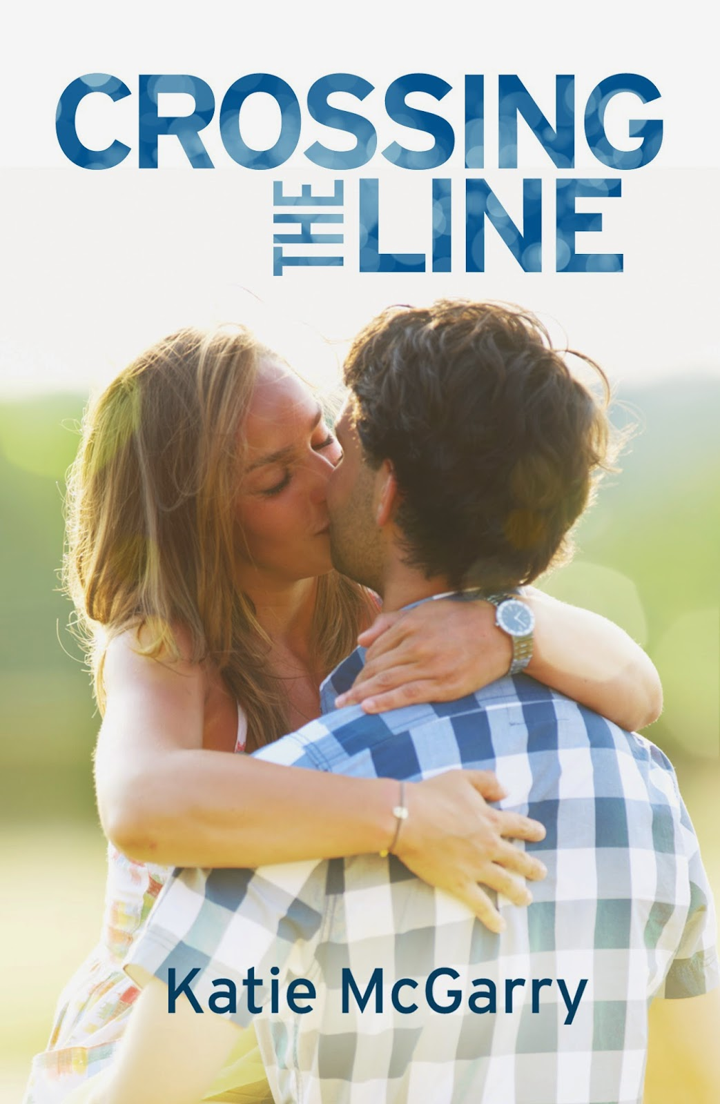 Crossing the Line by Katie McGarry book cover