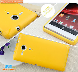 Quality TPU Cover Case + Screen Guard for Sony Xperia SP M35h M35i C5303 C5302