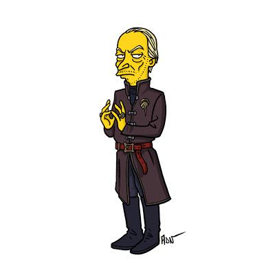 Tywin Lannister los simpsons - Juego de tronos en los siete reinos
