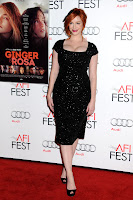 Christina Hendricks hot on the red carpet