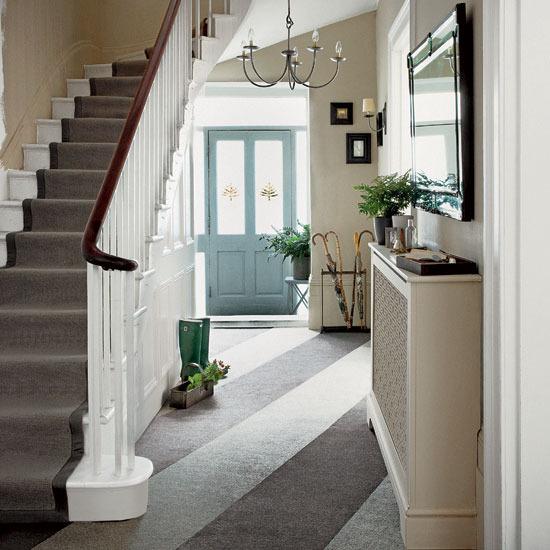 Bricolage e Decoraç u00e3o Ideias para Hall de Entrada com Escada Vários Estilos -> Decoração De Hall Com Escada