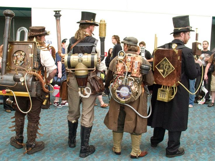 mens clothing steampunk costume cosplay fashion
