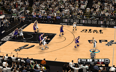 NBA 2K14 San Antonio Spurs HD Court Mod