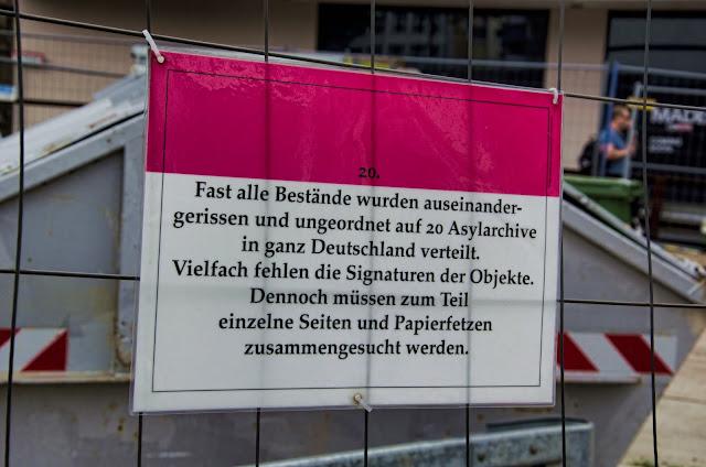 Baustelle Köln, Historisches Archiv der Stadt Köln, Severinstraße 226, 50676 Köln, 01.07.2013