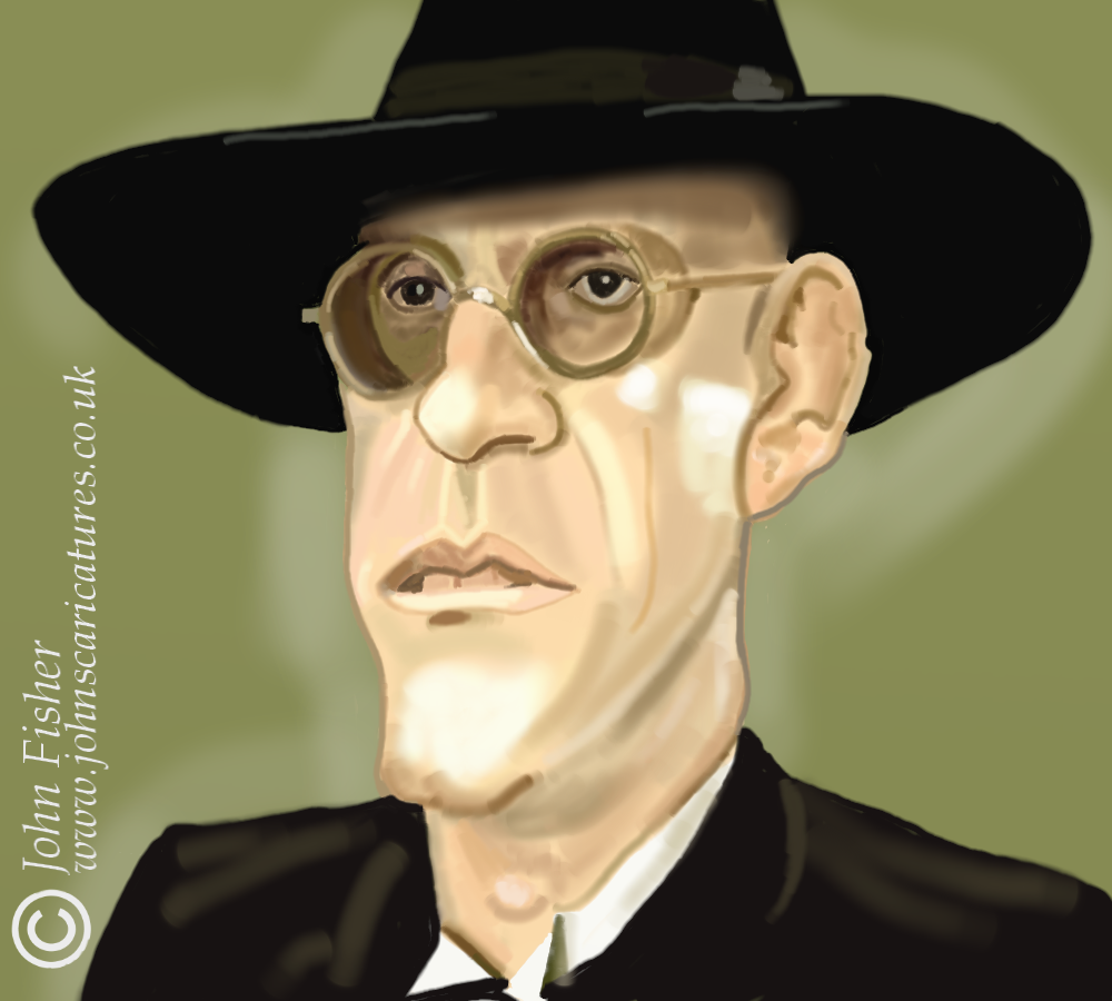 The Art of John Fisher: Judge Doom alias Christopher Lloyd