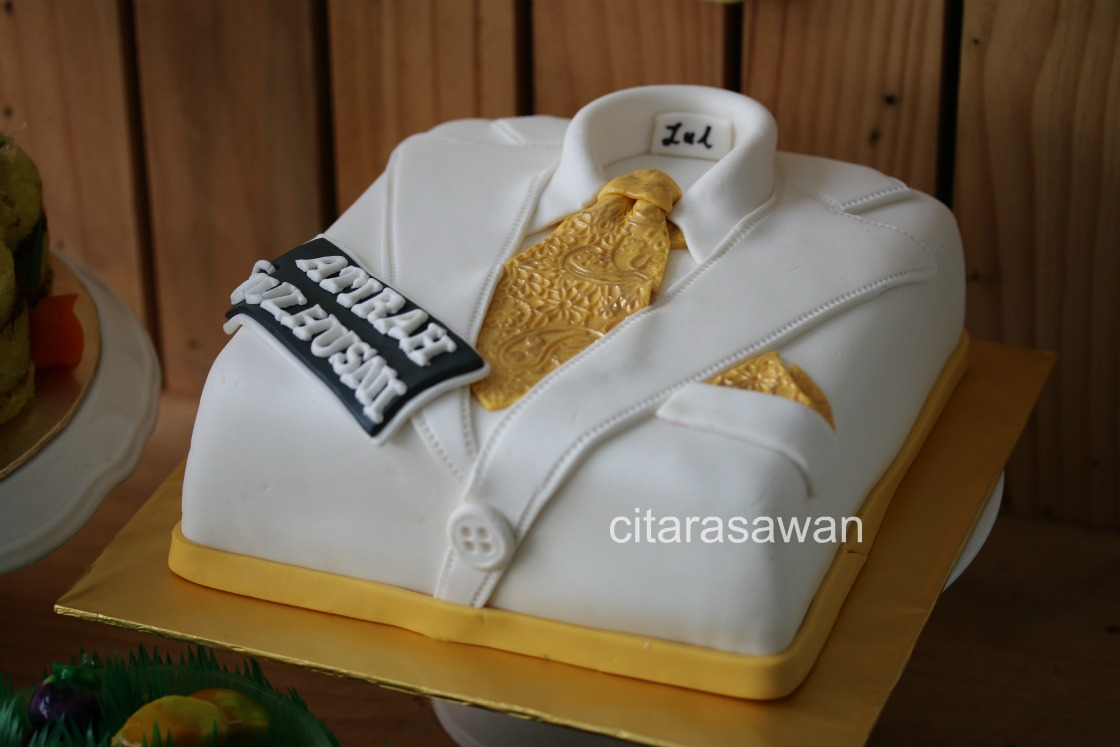 Fondant Tuxedo Cake Athirah Zulhusni Blog Kakwan