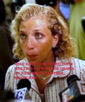 DEBBIE SCHULTS CAUGHT COMEING FROM OBAMAS OFFICE
