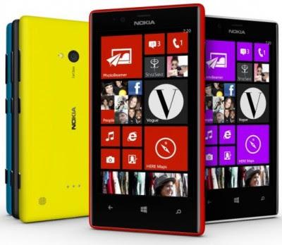 harga nokia lumia 720 spesifikasi dan gambar, fitur hp wp8 terbaru seri lumia 720