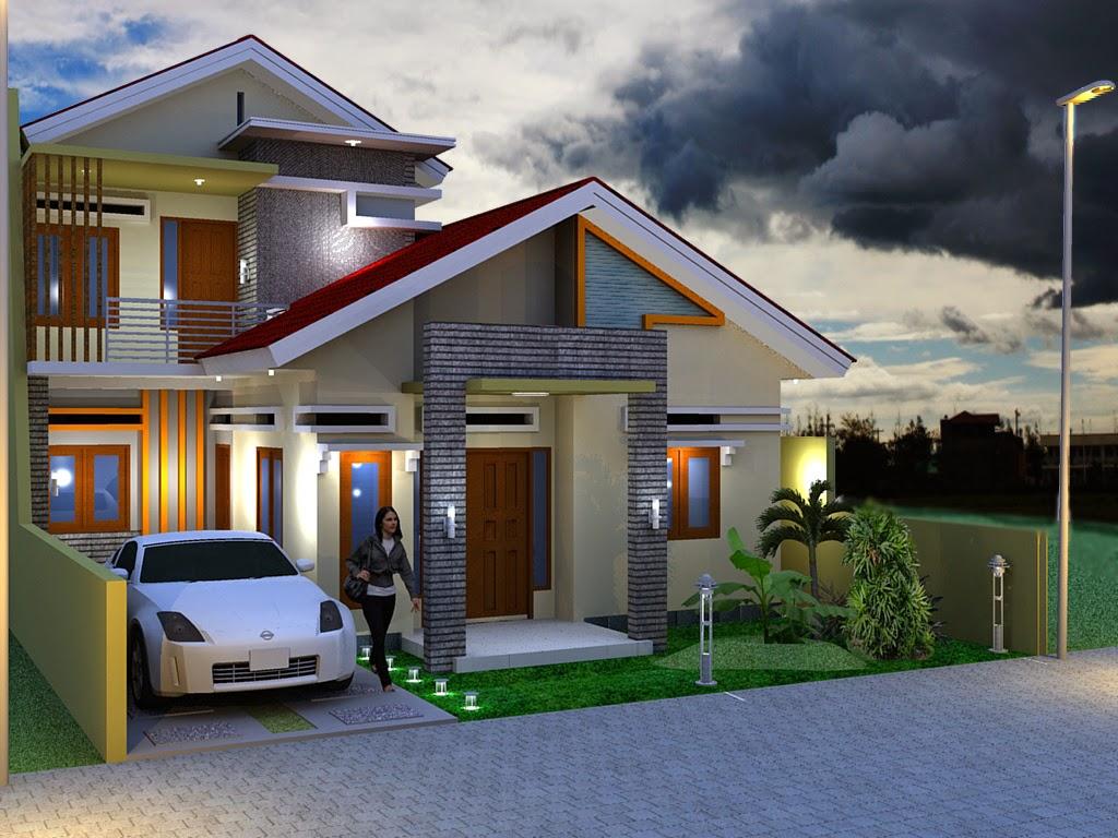gambar depan rumah minimalis