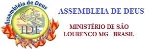 Assembleia de Deus - Ministério de São Lourenço - MG - Brasil