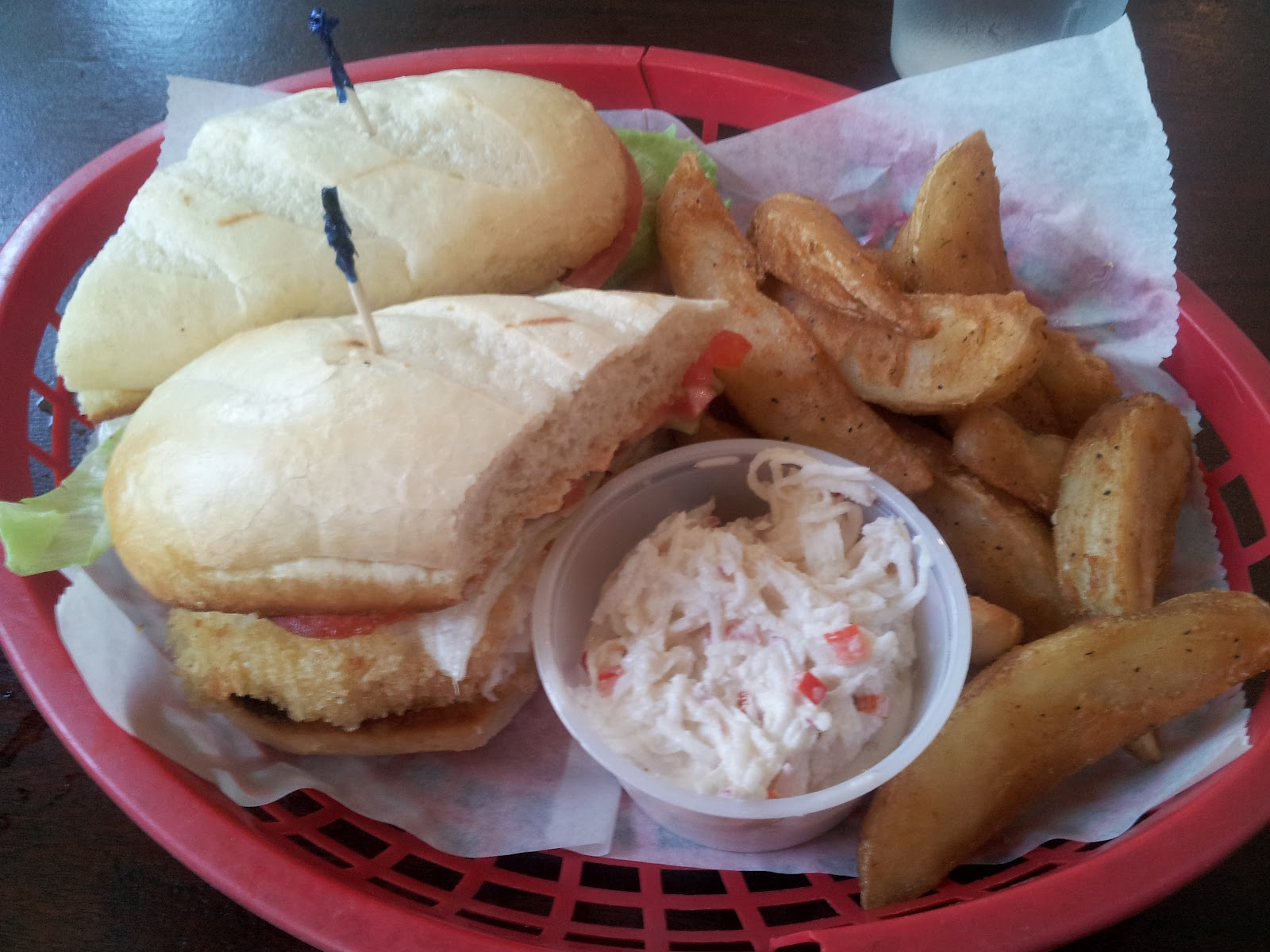 Ben 39 s food review palm valley fish camp ponte vedra for Ponte vedra fish camp