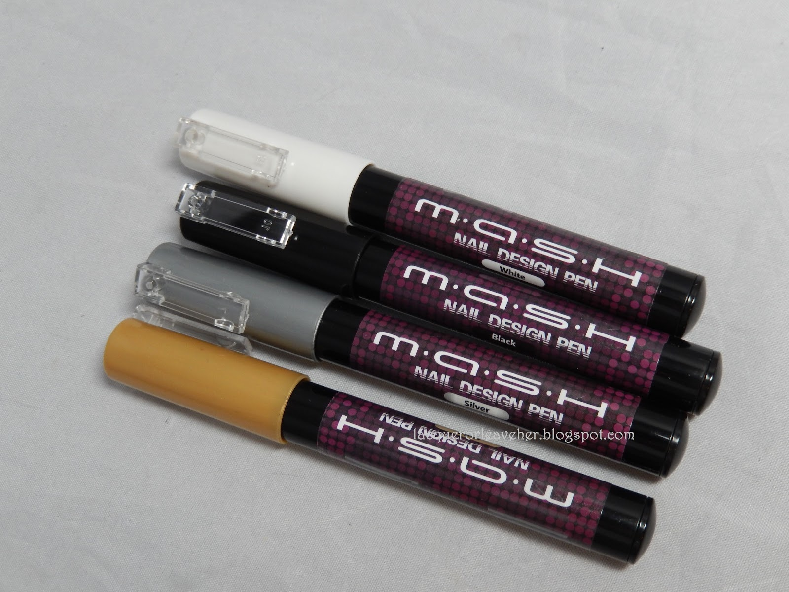 Lacquer or Leave Her!: Review: MASH nail art pens