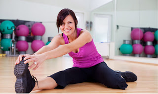 Stretching exercises for women to lose weight