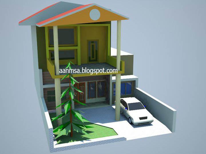 desain rumah 3 dimensi