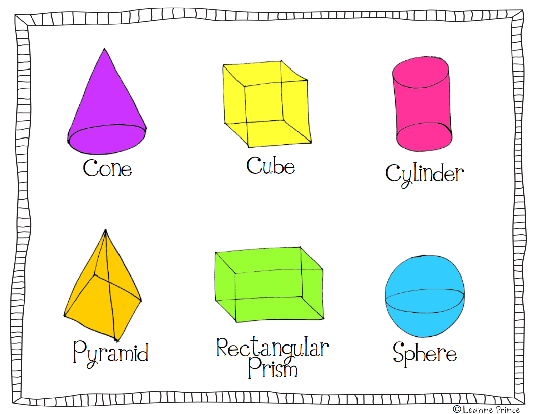 how to draw 3 dimensional shapes