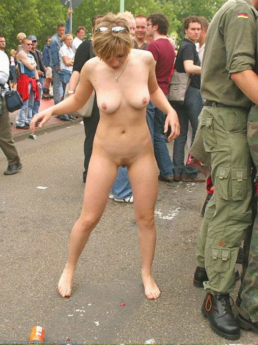 Not Nude girl fully in public opinion