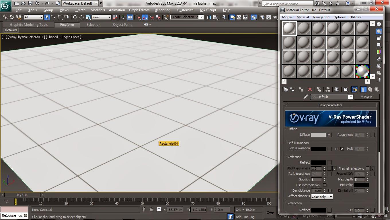 tutorial lantai keramik 2 edisi 3dsmax hallomars
