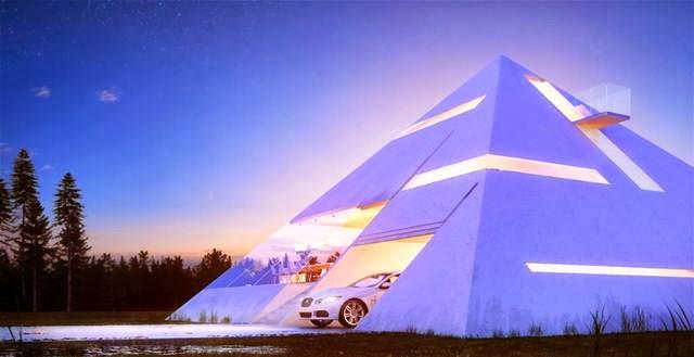 rumah piramida