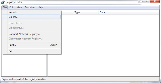 how to go to registry editor in windows 7