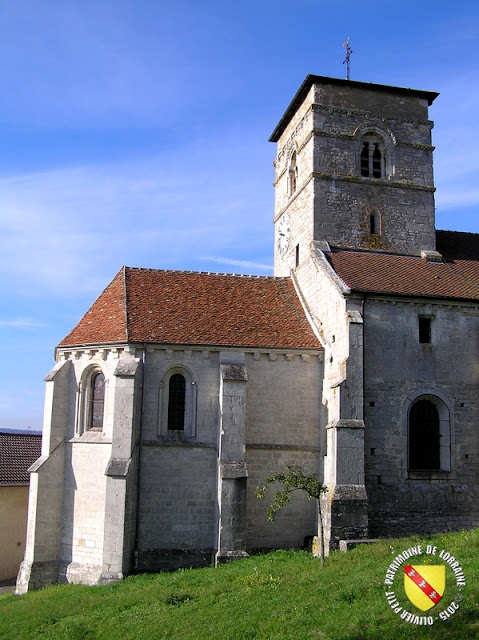 ECROUVES (54) - Eglise de la Nativité de la Vierge (Extérieur)