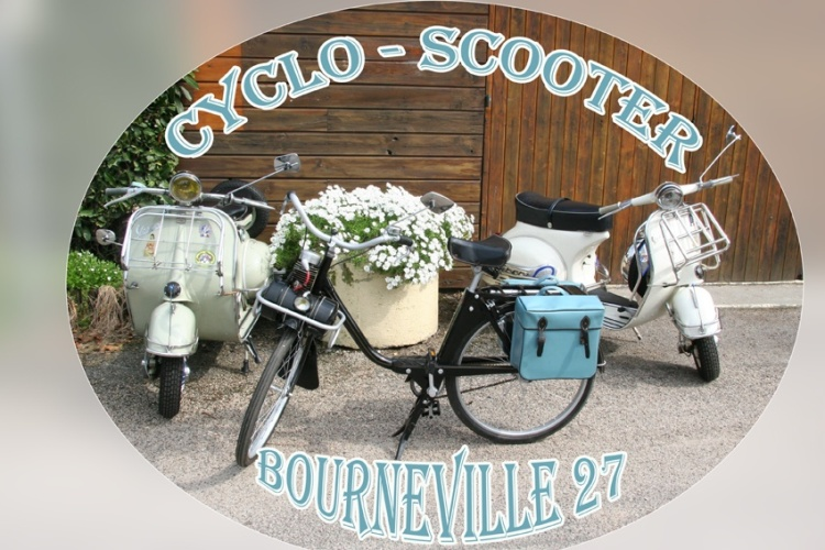 Cyclo-scooter Bourneville 27