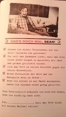 Sag´s noch mal, Sean