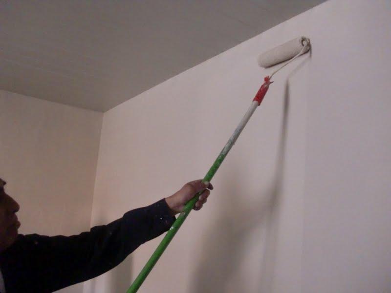 Aprende con tu amigo luis como usar el rodillo para - Aprender a pintar paredes ...