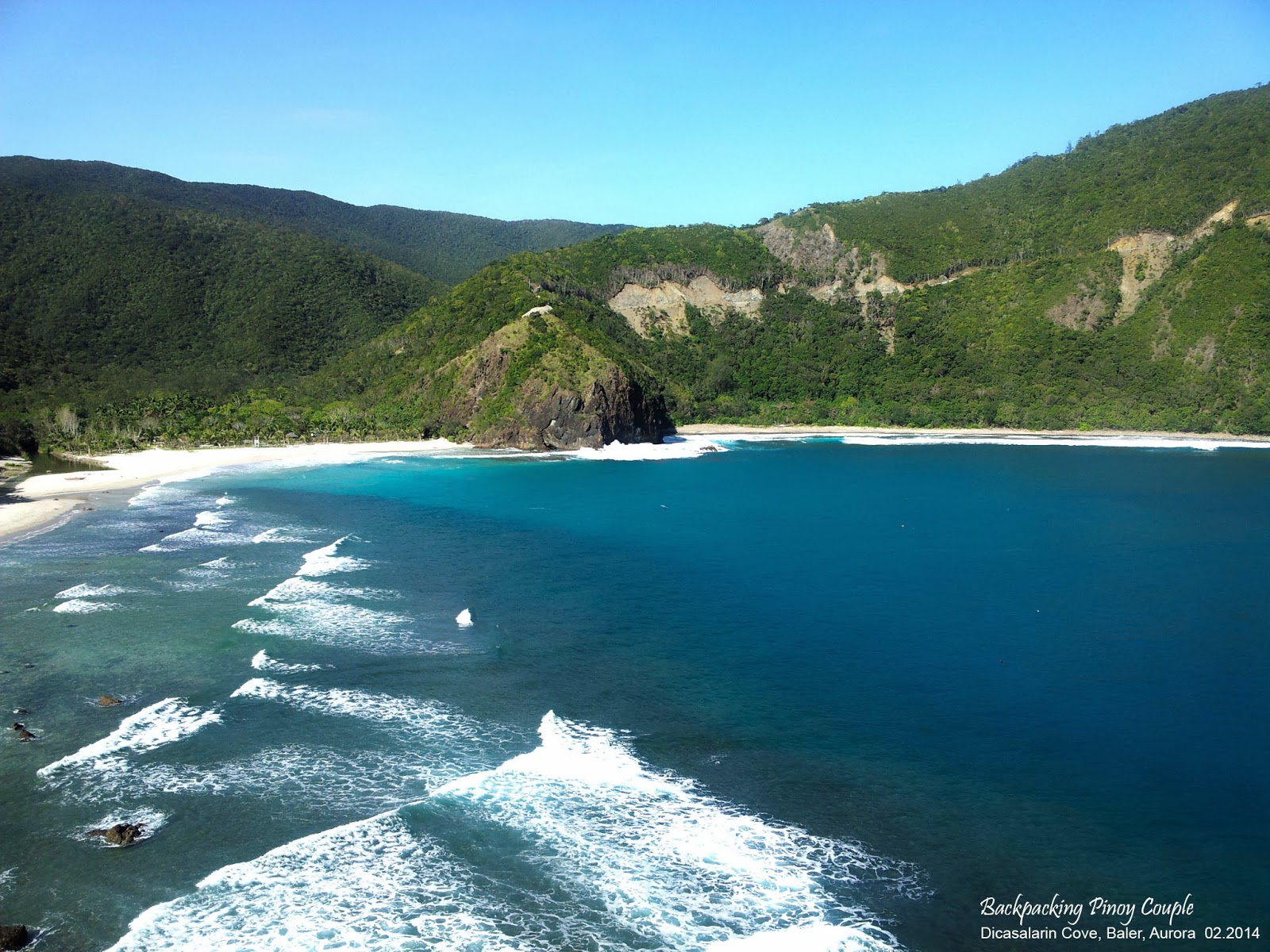 Baler, Backpacking Pinoy Couple, Philippines, It's More Fun in the Philippines, philippine travels, backpacking, backpacking philippines, how to go to aurora, how to go to baler, North Luzon, how to go to Dicasalarin Cove, Dicasalarin Cove