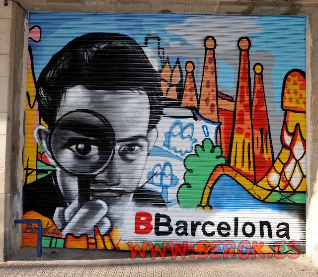 graffiti persianas Barcelona